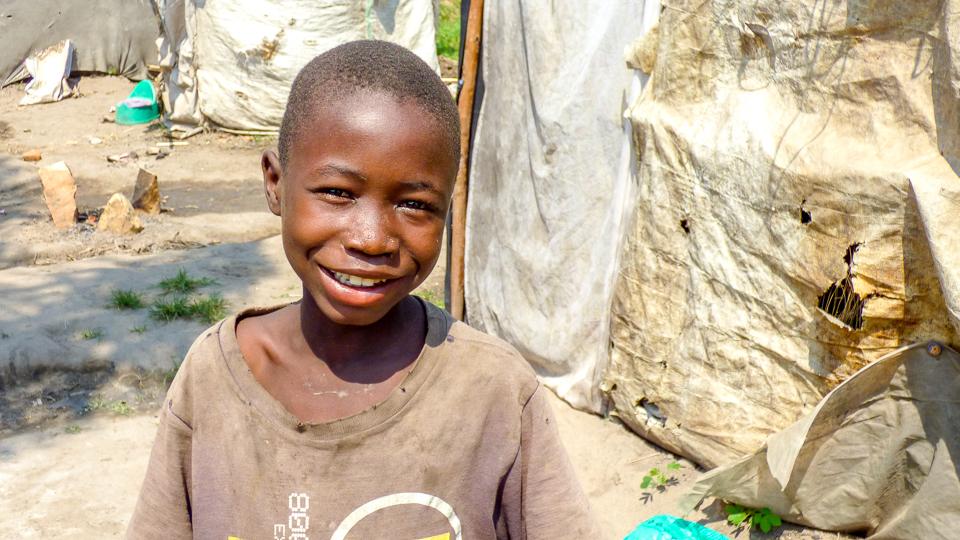 Boy in Burundi